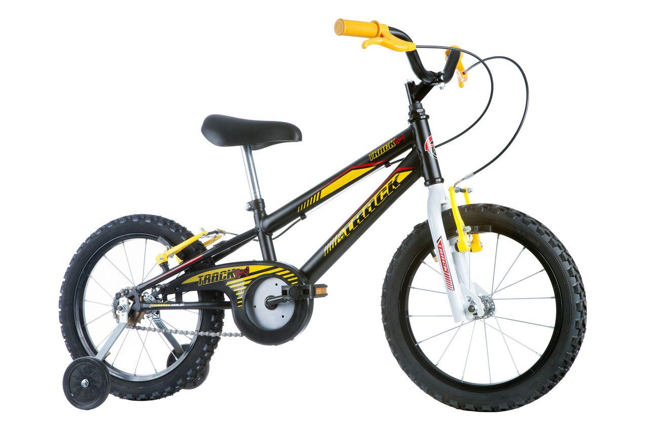ddb15cd59 Bicicleta Track Bikes Track Boy Infantil Aro 16 Seminova ...