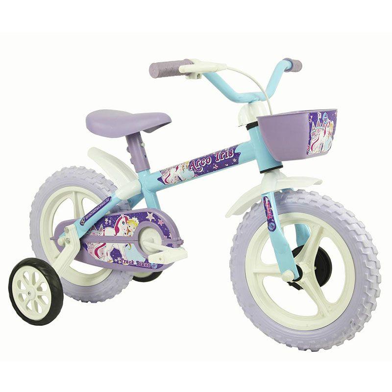 Bicicleta Track & Bikes Aro 12 Arco Íris