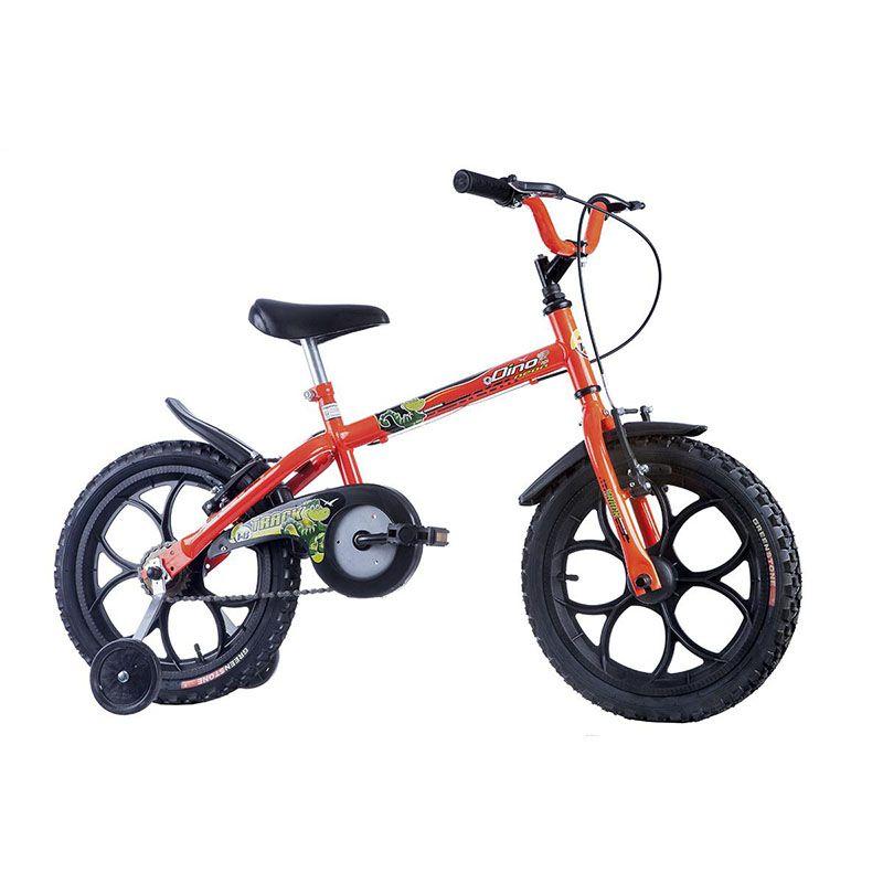 Bicicleta Track & Bikes Aro 16 Dino Neon