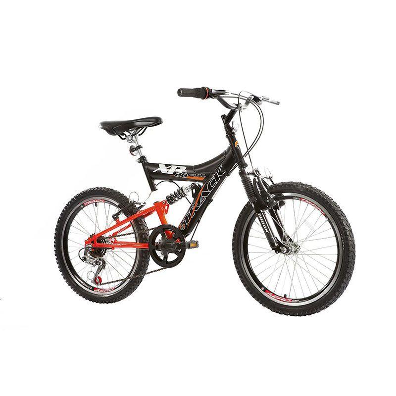 Bicicleta Track & Bikes Aro 20 XR 20 6 Velocidades Dupla Suspensão