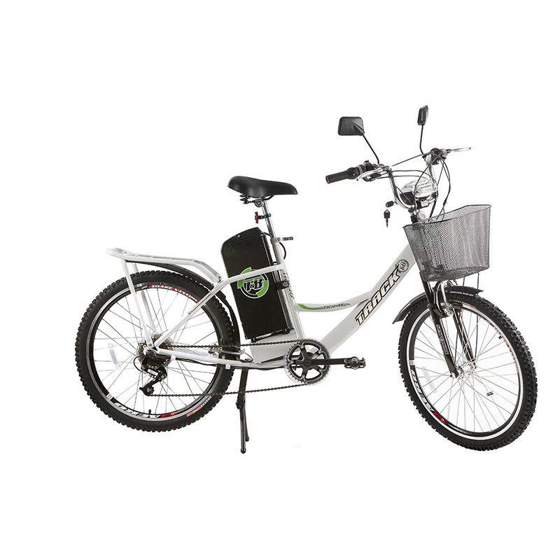 Bicicleta Track & Bikes Aro 24 City Pas Elétrica 350W
