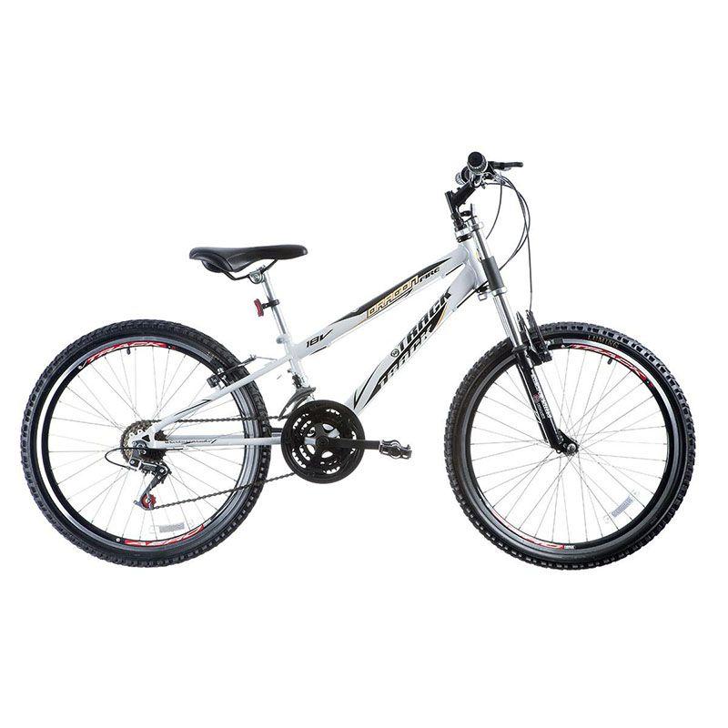 Bicicleta Track & Bikes Aro 24 Dragon Fire 18 Velocidades Suspensão Dianteira
