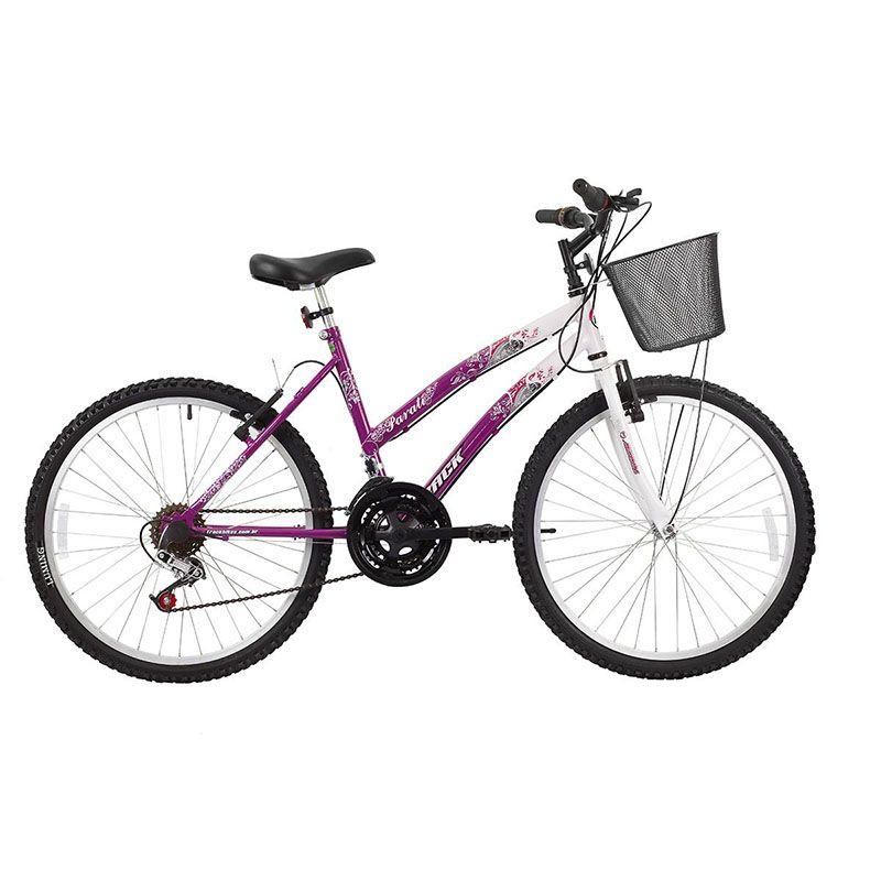 Bicicleta Track & Bikes Aro 24 Parati 18 Velocidades