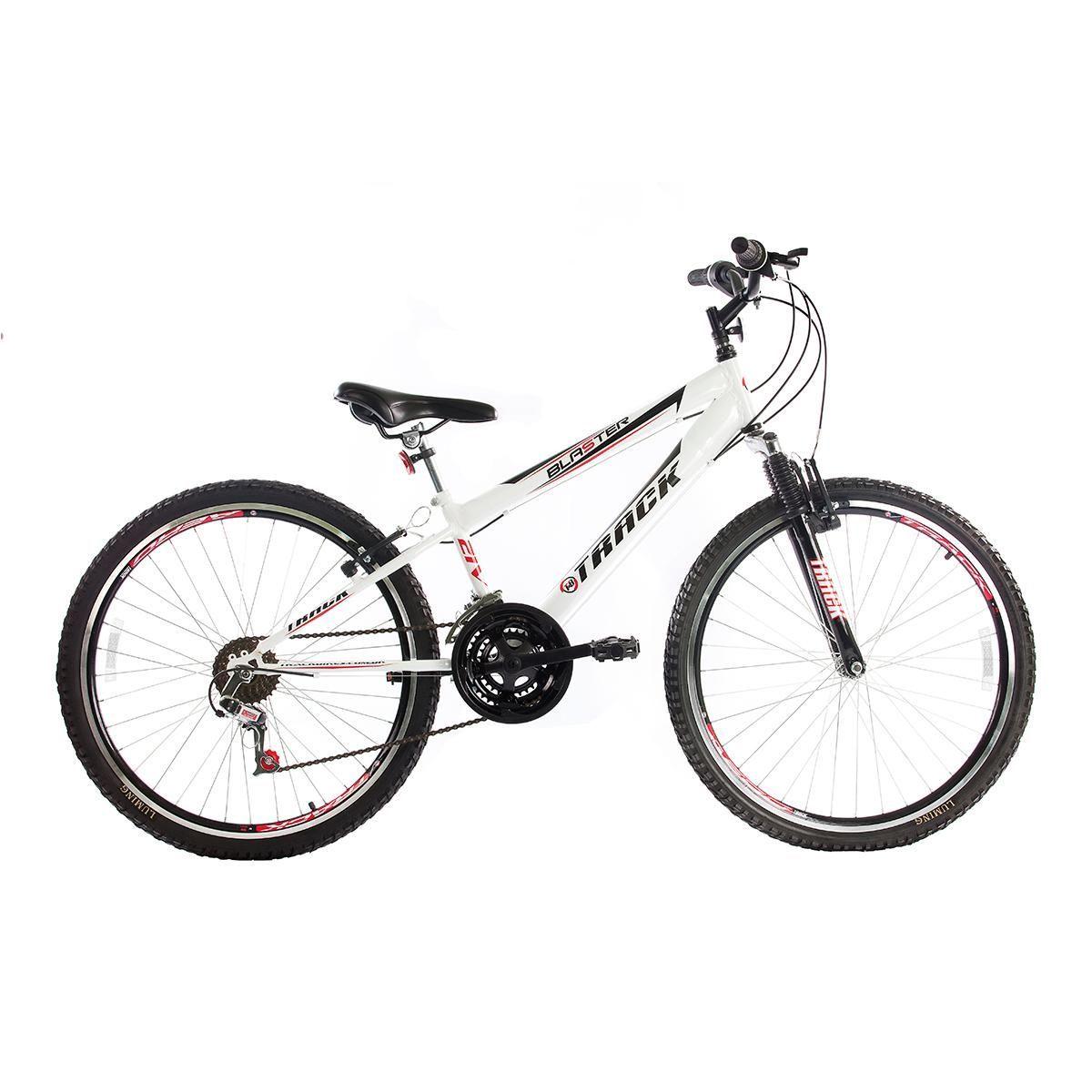 Bicicleta Track & Bikes Aro 26 Blaster 21 Velocidades Suspensão Dianteira