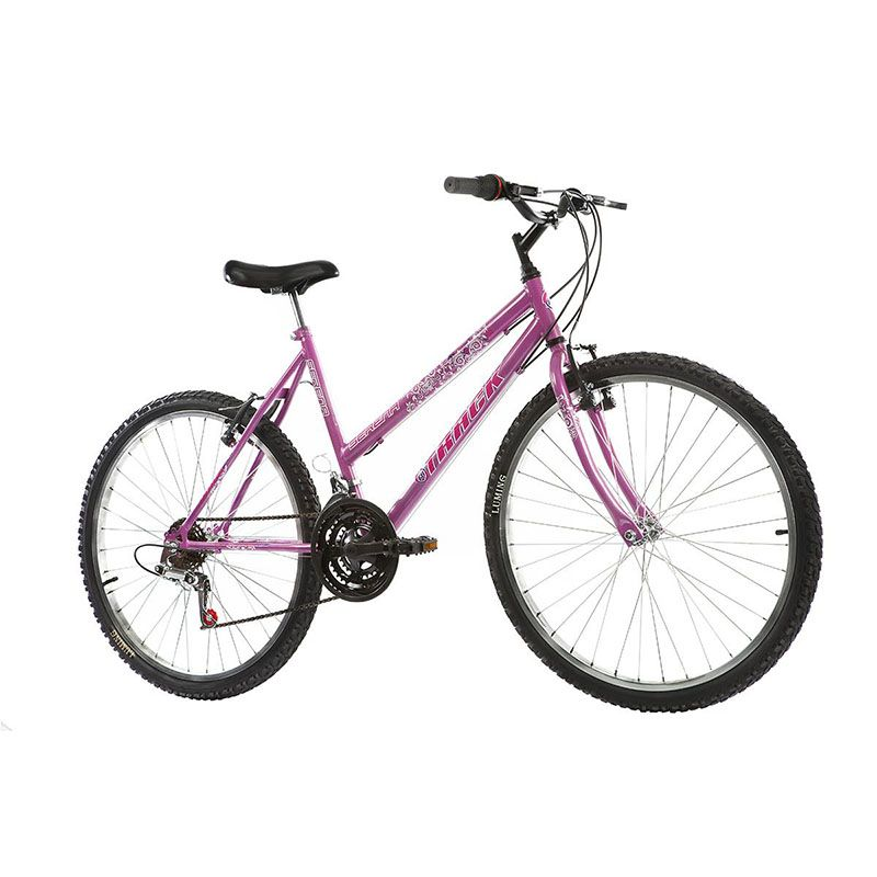 Bicicleta Track & Bikes Aro 26 Serena 18 Velocidades