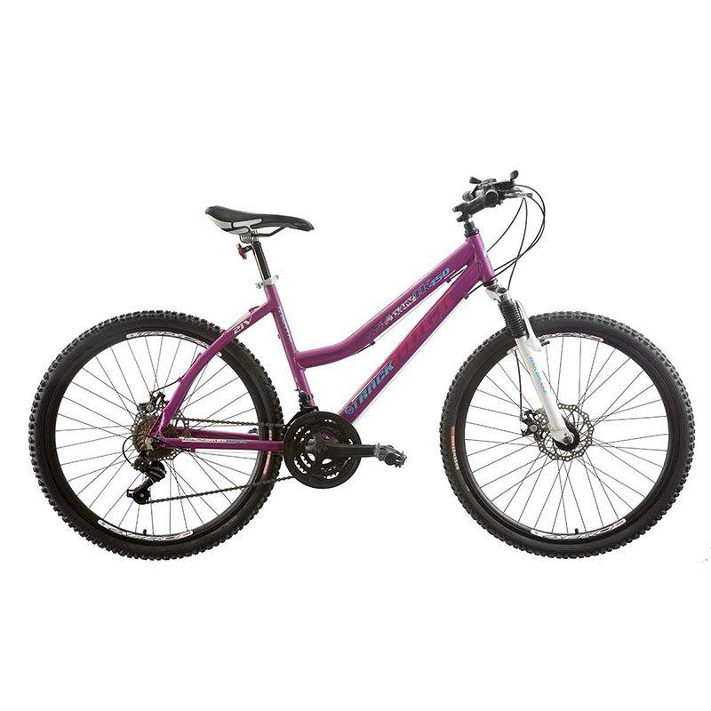Bicicleta Track & Bikes Aro 26 TK450 Alumínio 21 Velocidades Disk Brake