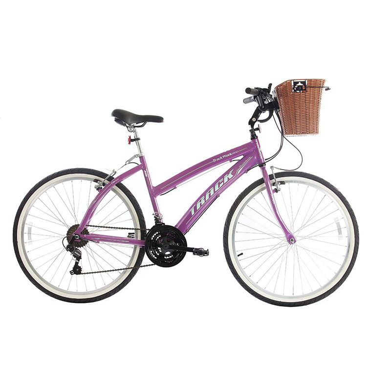 Bicicleta Track & Bikes Aro 26 Week 200 Plus 21 Marchas Shimano Quadro Alumínio