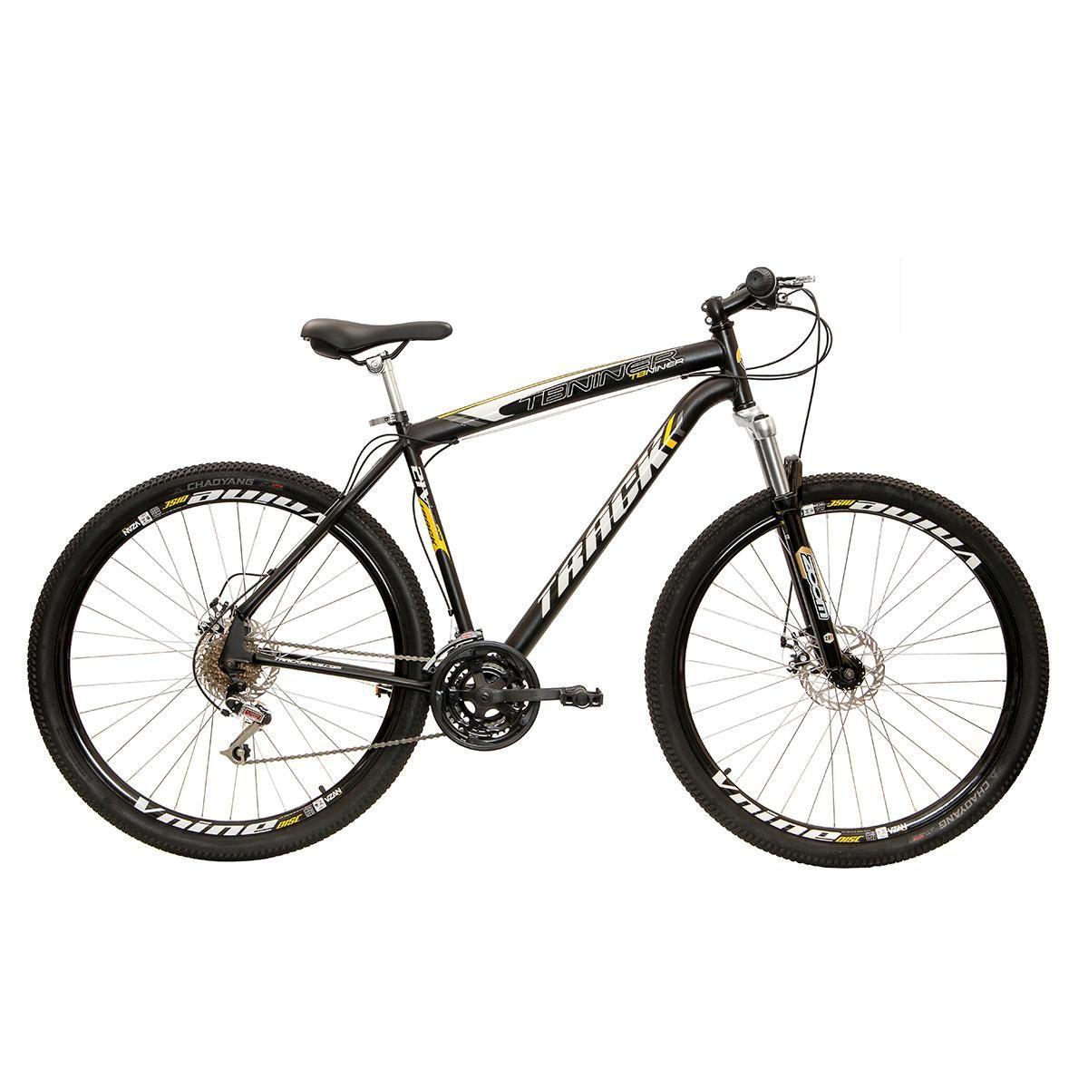 Bicicleta Track & Bikes Aro 29 TB Niner 21V Suspensão Dianteira Freio à Disco