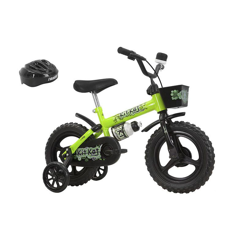 Bicicleta Track & Bikes Infantil Kit Kat Aro 12