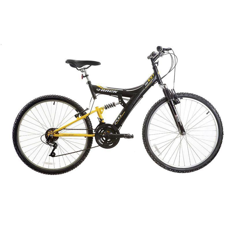 Bicicleta Track & Bikes TB 100 XS Aro 26 Com Suspensão Dupla 18v