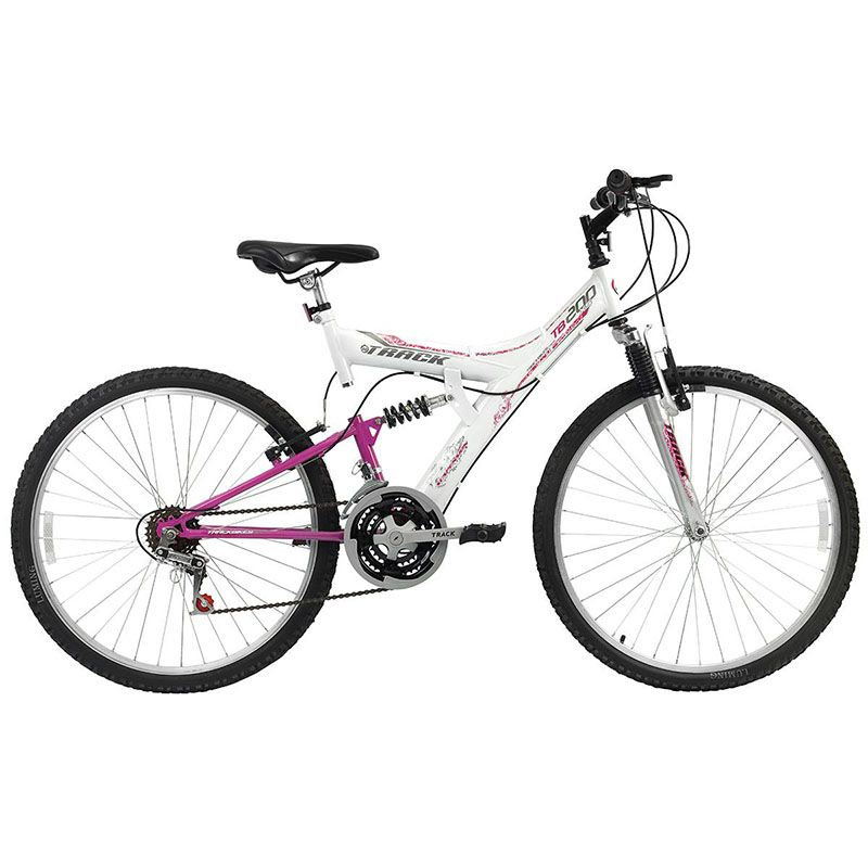 Bicicleta Track & Bikes TB-200 Aro 26 Full Suspensão 18 marchas