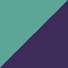 Azul/Lilás Metálico