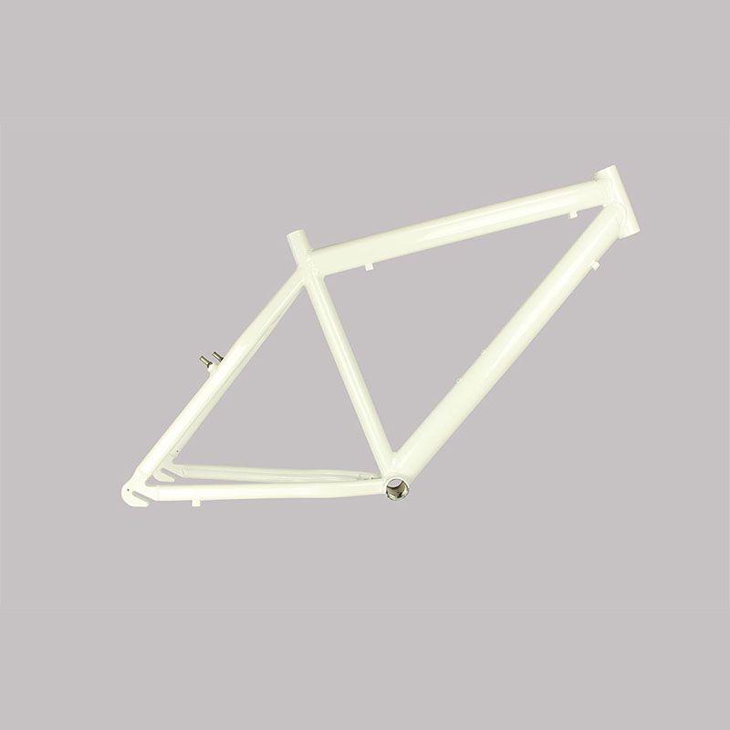 Quadro de Bike  Aro 26 Alumínio Branco - Track & Bikes