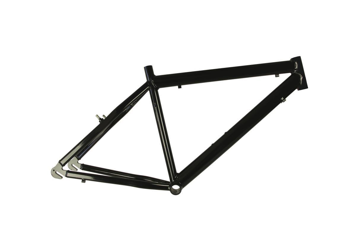 Quadro de bikes  Aro 26 Alumínio Preto - Track & Bikes