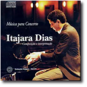CD - Itajara Dias - Música para Concerto | Instrumental