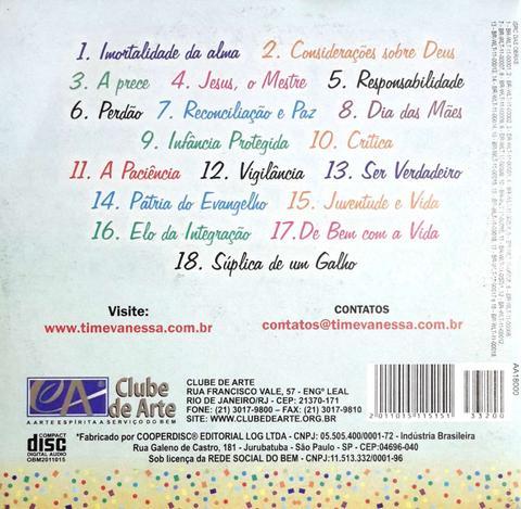 CD - Tim e Vanessa - Pétalas de Inspiração