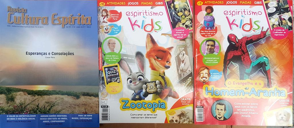 Kit revista espiritismo kids