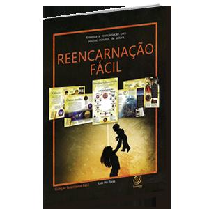 Livro - Reencarnação Fácil   Luis Hu Rivas