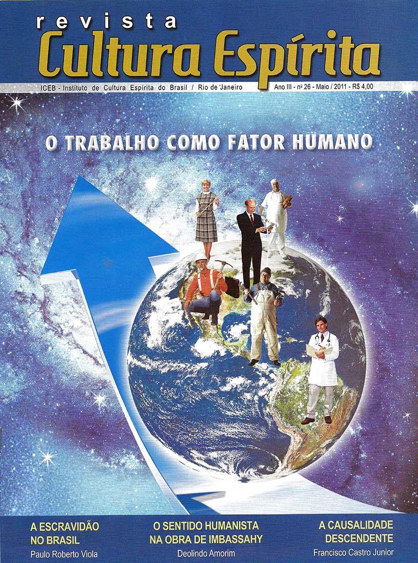 Revista Cultura Espírita 26 - O Trabalho Como Fator Humano