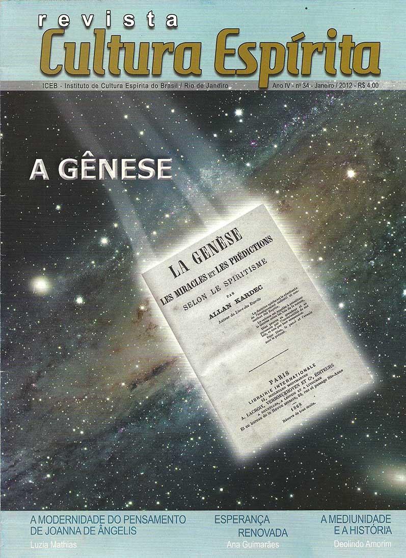 Revista Cultura Espírita 34 - A Gênese