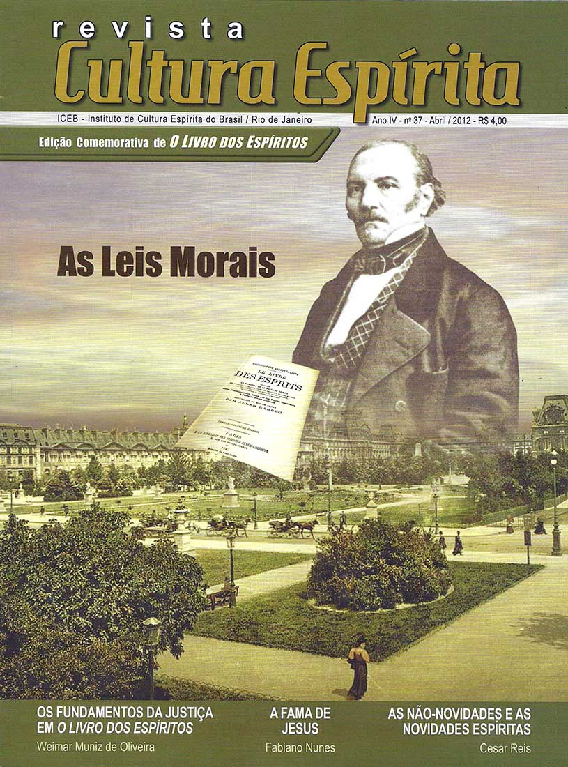 Revista Cultura Espírita 37 -  As Leis Morais