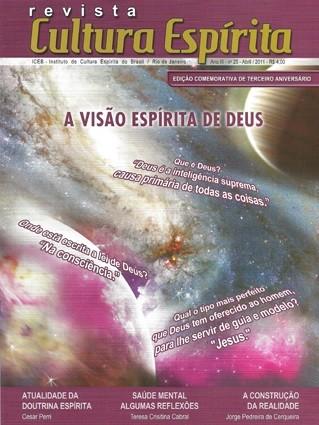 Revista Cultura Espírita - Nº 25 - Outubro 2014