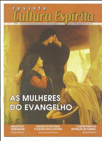 Revista Cultura Espírita - Nº 36 - Março 2012