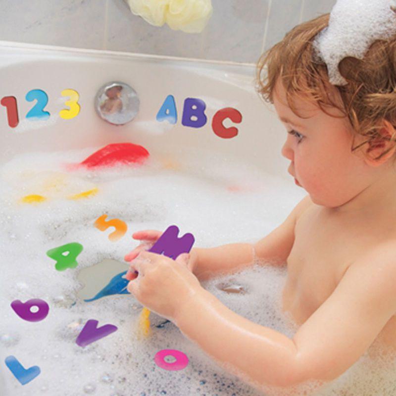 Brinquedo Baby Letras Números de Espuma Flutuante Banho - Trendy Baby c6b0294045