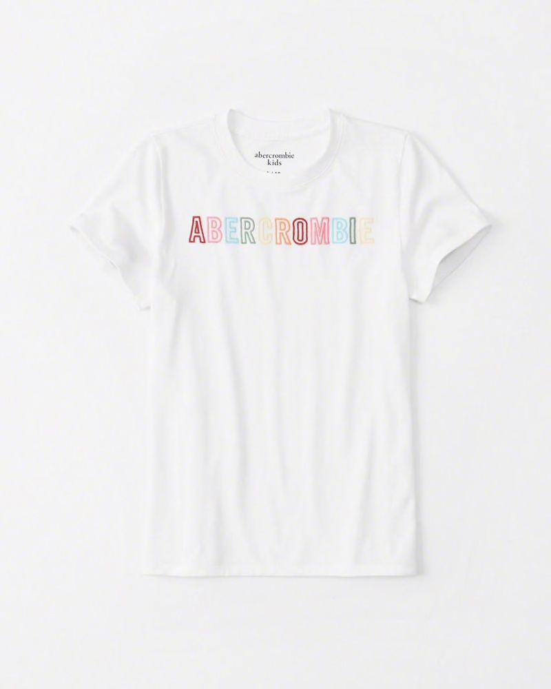 Camiseta Letras Coloridas Abercrombie - Trendy Baby 809ec2bce9