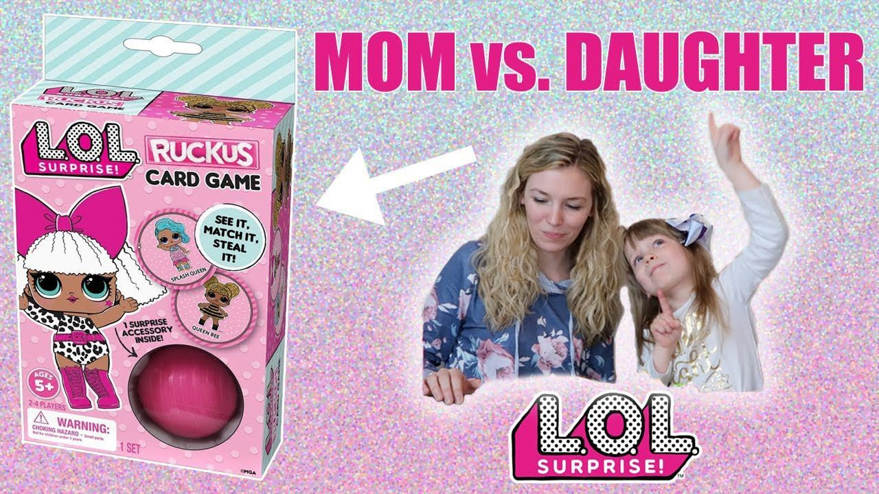 L.O.L. Surprise Ruckus Card Game - Trendy Baby fbef772a35