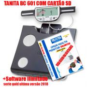 Balança de Bioimpedancia BC 601 Tanita c/ Software ILIMITADO