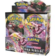 Box Display Pokémon Espada e Escudo 2 Rixa Rebelde