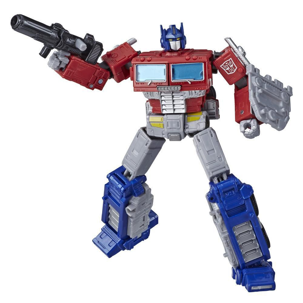 Conjunto Transformers Generations War for Cybertron: Earthrise Leader Astrotrain e Oprimus Prime