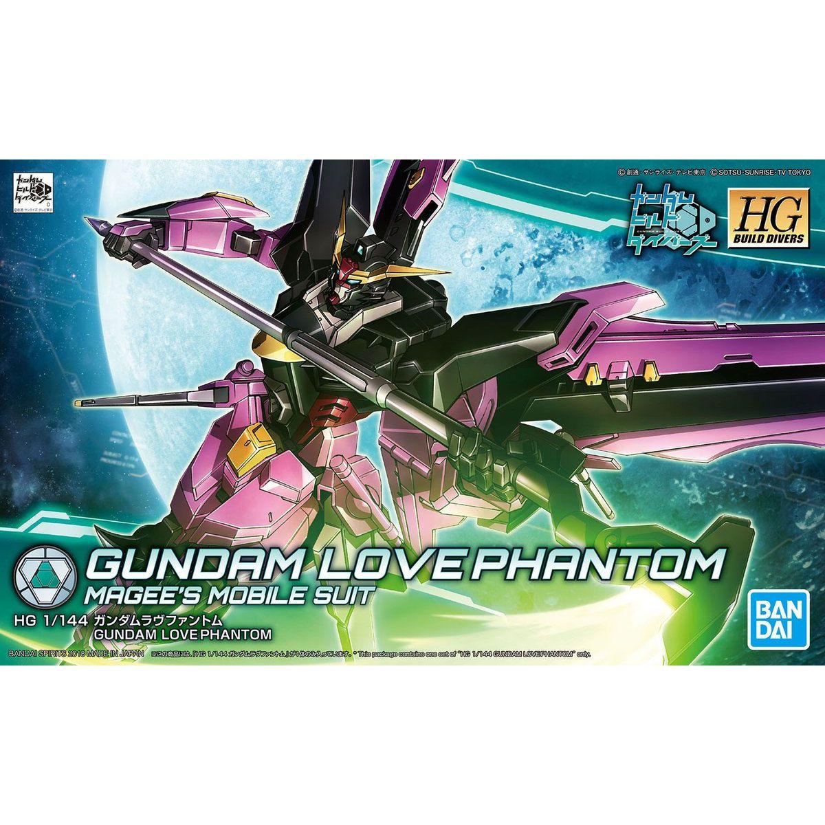 GUNDAM LOVE PHANTOM HG 1/144 Bandai