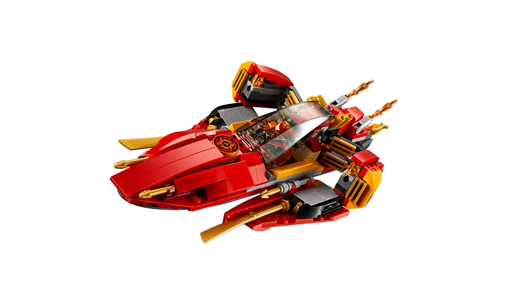 LEGO NINJAGO MASTERS OF SPINJITZU KATANA VII257 PCS