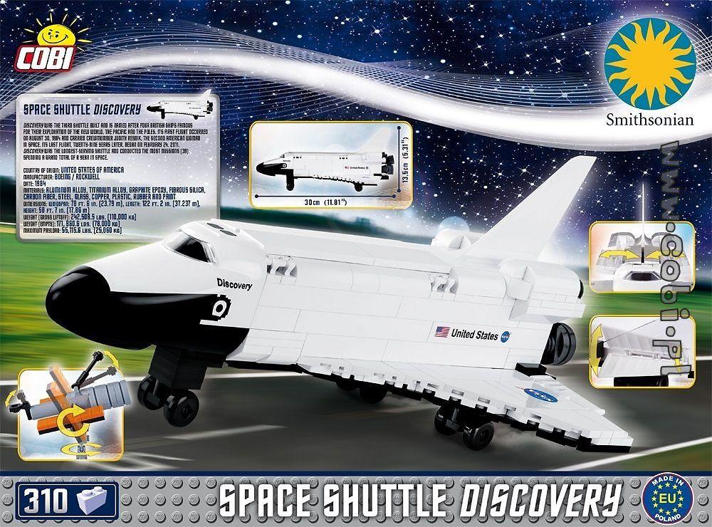 ONIBUS ESPACIAL BLOCOS PARA MONTAR COM 310 PCS