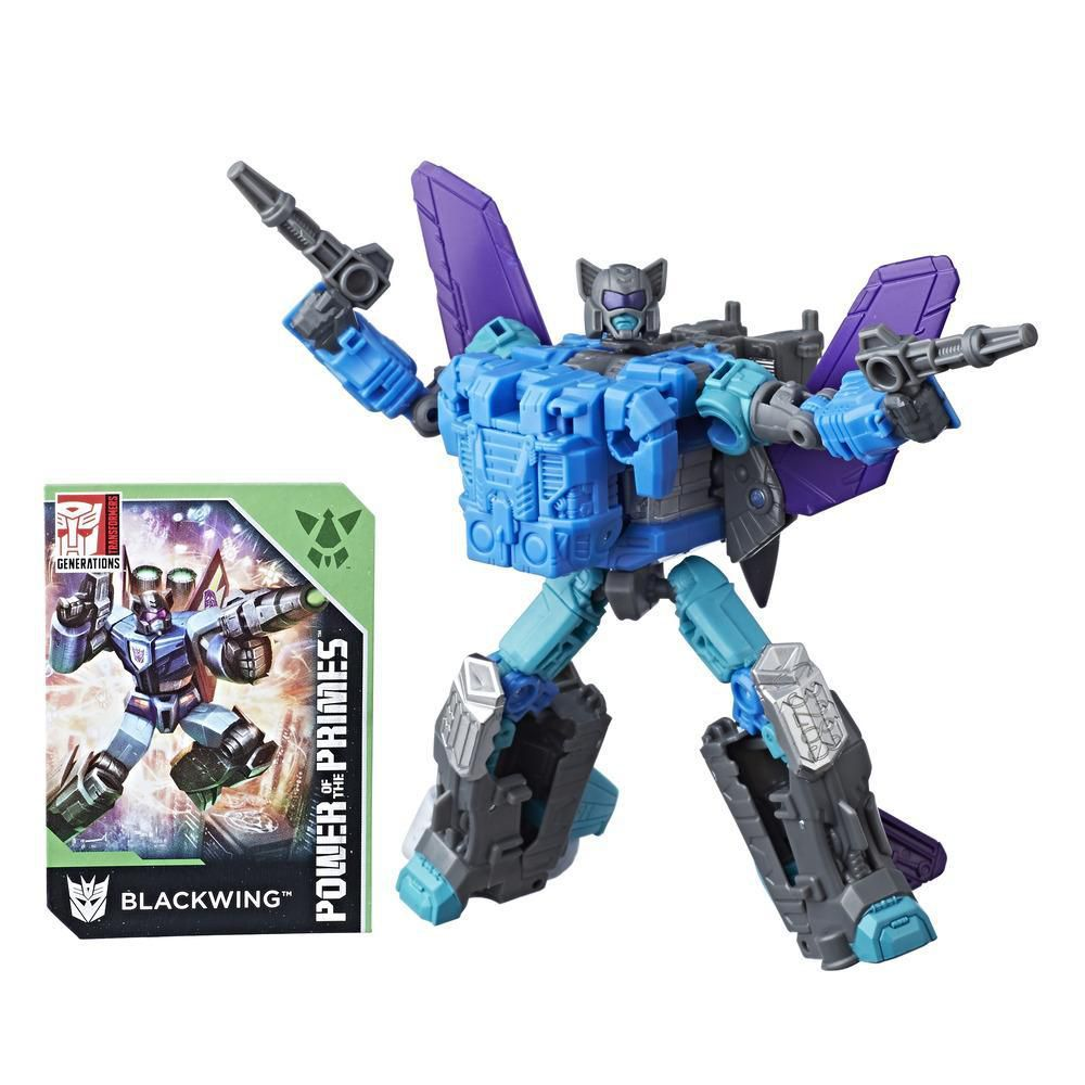 Transformers Generations Power of the Primes - Blackwing classe deluxe