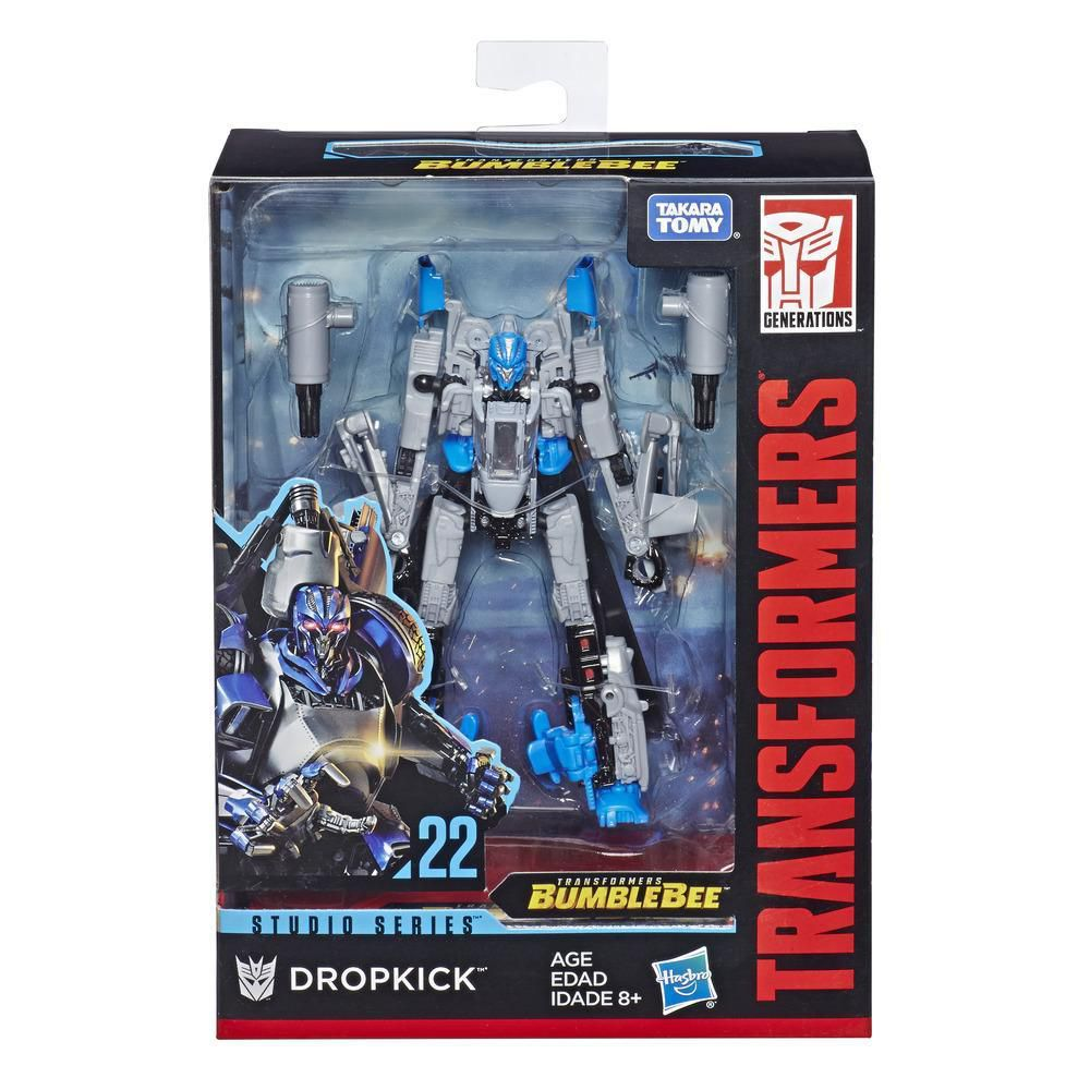 TRANSFORMERS STUDIO SERIES DELUXE CLASS 22 - Dropkick