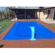 Capa De Piscina 2,4X1,7 Lona Forte Proteçao  340 Micras