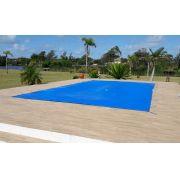 Capa de piscina 4,8x3,5 Lona Forte Proteçao reforçada