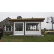 Toldo Cortina Retrátil - Lona Com Visor 2,5x1,43
