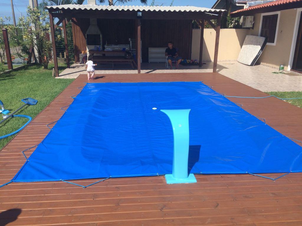 Capa para piscina 4 5x3 lona forte prote o fabrica de for Fabrica de piscina
