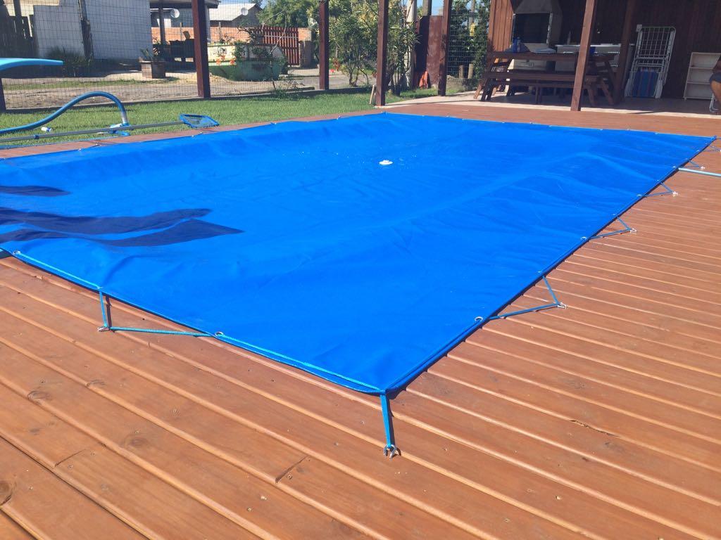 Capa para piscina 8 5x4 lona forte fabrica de capas para for Fabrica de piscina