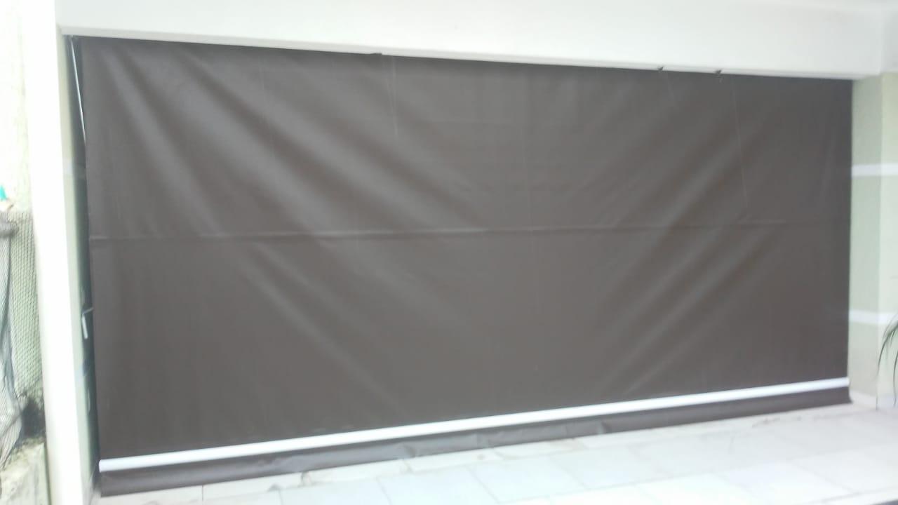 Toldo Cortina Retrátil Blackout 2,5x2 - Fácil instalação  - Atacadopp - Fabrica de Capas de Piscina