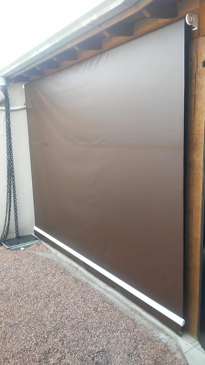Toldo Cortina Retrátil - Lona Blackout 4,95x2,45  - Atacadopp - Fabrica de Capas de Piscina