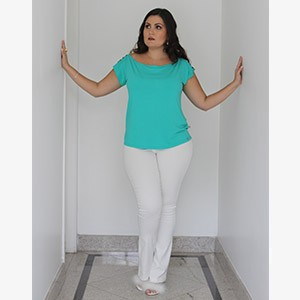 Calça Bengaline Branca