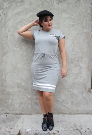 Vestido Rebel Cinza