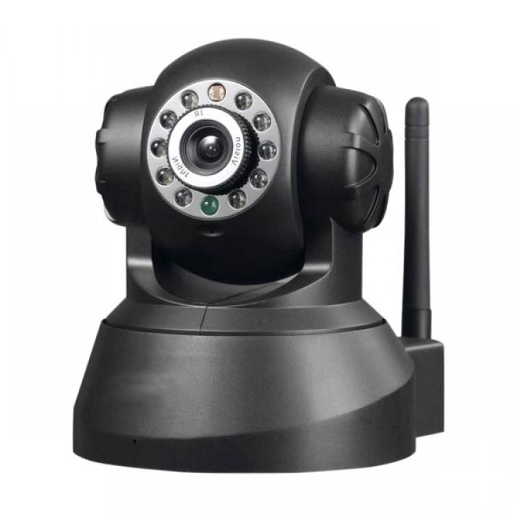 Camera Ip Wireless Visão Noturna - Android, Iphone Micro Sd