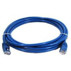 Patch Cord U/utp Gigalan Cat.6 Cm T568a/b 2.5m Azul