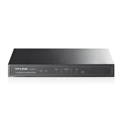 Roteador Broadband 1w + 1l + 3 Wan/lan Tl-r470t+ Load Balanc